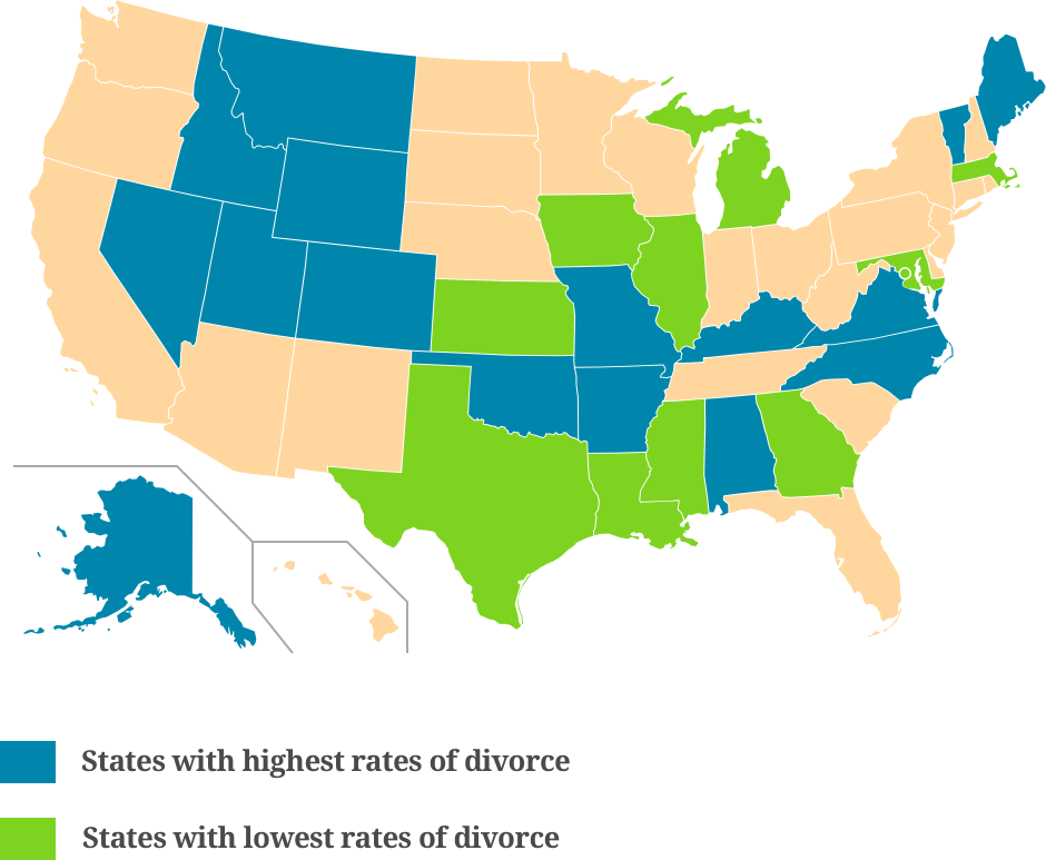Rates of Divorce-1